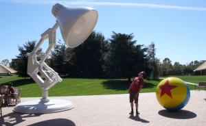 Leo Baker at Pixar